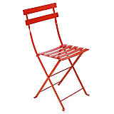 Fermob Bistro Folding Chair, Red