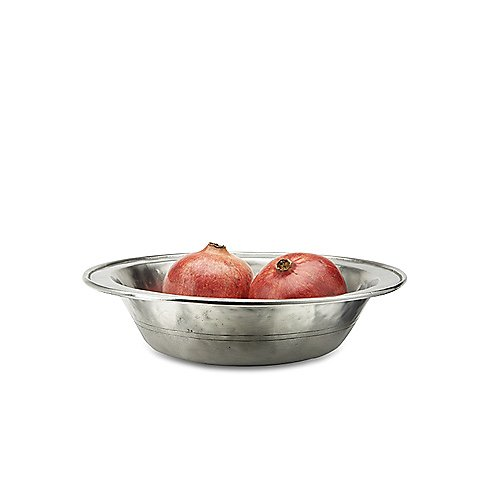 Match Pewter Rimmed Bowl