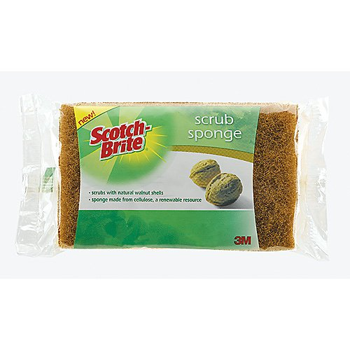 Scotch-Brite Greener Clean Natural Fiber NonScratch Scrub sponge
