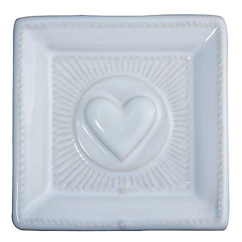 Juliska Cornerstones Mini Square Love Tray