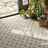 "Dash & Albert Plain Tin Charcoal 3' x 5"" Rug"