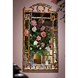 Dessau Brass Rectangular Bamboo Mirror
