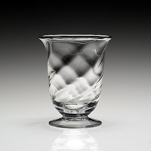 "William Yeoward 6"" Spiral Vase"