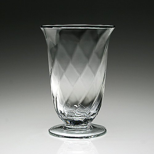 "William Yeoward 9"" Sprial Vase"