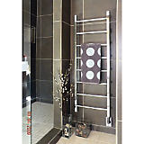 "MR17645-P 70""HX18""WX4""D RYTON TOWEL WARMER POLISH CHROME"