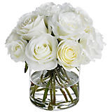 Diane James White Rose Arrangement