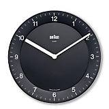 Braun 7.9  Diameter Wall Clock