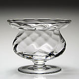 "William Yeoward 6"" Spiral Footed Bowl"