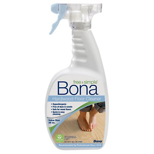 Bona Free & Simple Hardwood Floor Cleaner, 36oz. Trigger Spray