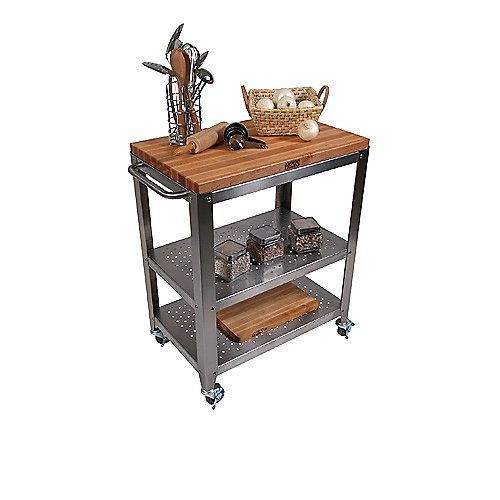 John Boos Maple Top Cucina Culinarte Cart