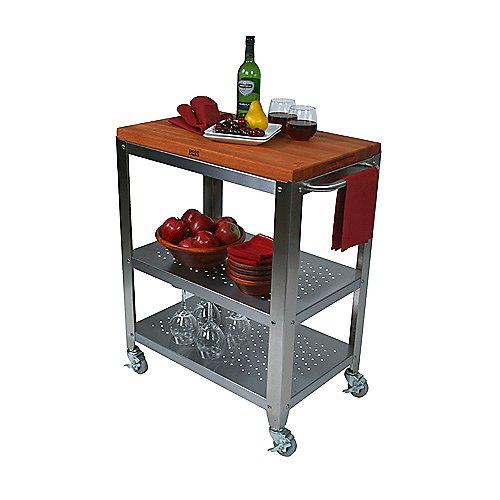 John Boos Cherry Top Cucina Culinarte Cart