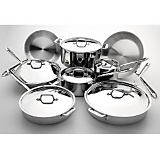 All Clad 14-Piece Stainless Steel Cookware Set