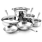All-Clad 10 Pc. Stainless Steel Cookware Set