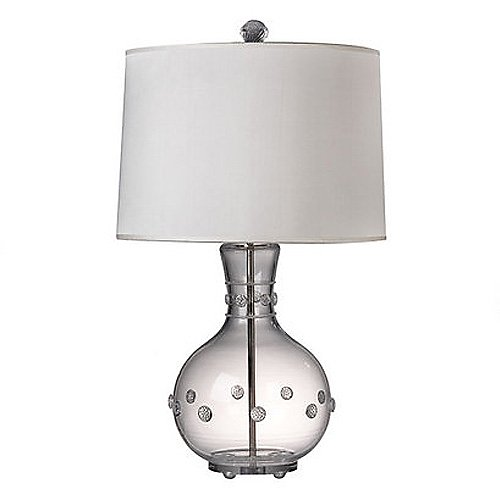 Juliska Isabella Clear Lamp with Snow Shade