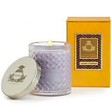 Agraria Lavender and Rosemary Woven Crystal Candle
