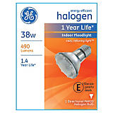 GE 38W PAR20/E26 Indoor Halogen Floodlight Bulb
