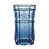 Juliska Colette Blue Highball Glass
