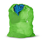 Honey Can Do Mesh Laundry Bag, Green