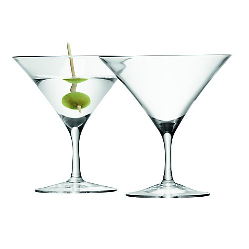 LSA Bar Martini Glasses, Set 2