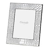 Christofle Croco D'Argent Sterling Silver Frame