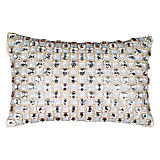 Sivaana All Over Clear Stones Pillow