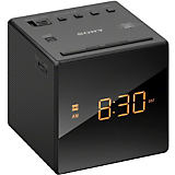 Sony Cube Black Clock Radio