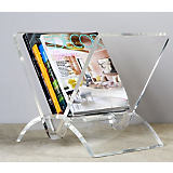 Interlude Home Versa Acrylic Magazine Rack