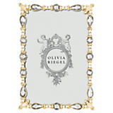 "Olivia Riegel Margot Crystal Frame 4""x6"""