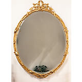 Carvers' Guild Acorn Oval Mirror