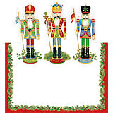 Caspari Nutcracker Suite Placecards, Pack of 8