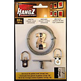 HangZ Flat Mount Hanging Kit with Wire, 30lbs