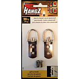 HangZ 2 Hole D-Ring Hangers, 75lbs