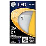 GE 17W A21/E26 General LED Bulb Soft White