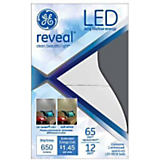 GE 12W BR30/E26 Reveal LED Bulb White
