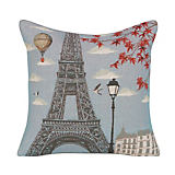 Yves Delorme Iosis Mademoiselle Ciel Pillow