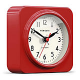 "Newgate 6"" Biscuit Alarm Clock, Red"