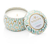 Voluspa Laguna Small Decorative Tin Candle