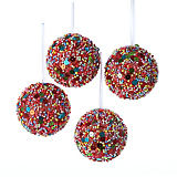 Sprinkle Ball Ornaments