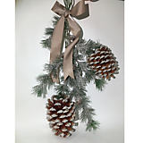 Sherri's Designs Pine Swag with Large Cones
