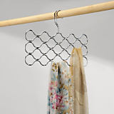 Classico 23-Loop Scarf Holder, Chrome