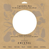 Cristel Mutine Cookware Protection Pads, Set of 3
