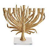 Michael Aram Palm Gold Menorah