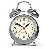 Newgate Covent Garden Chrome Alarm Clock