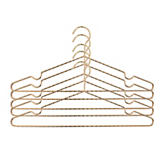 Closet Complete Luxurious Twisted Metal Hangers