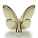 Baccarat Papillon Lucky Gold Butterfly