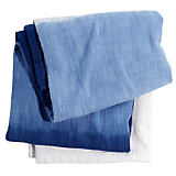 John Robshaw Maneka Indigo Throw