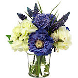 Diane James Small Indigo & White Bouquet
