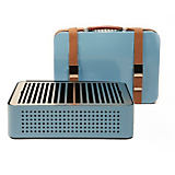 Mon Oncle Blue Portable Charcoal Grill