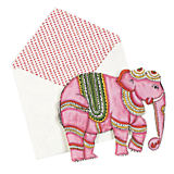 John Robshaw Elephant Stationery Set of 6