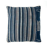 The Cozy Nomad Striped Light Indigo Pillow